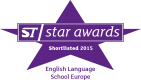 ST Star Awards - Shortlisted 2015 - English Language School Europe