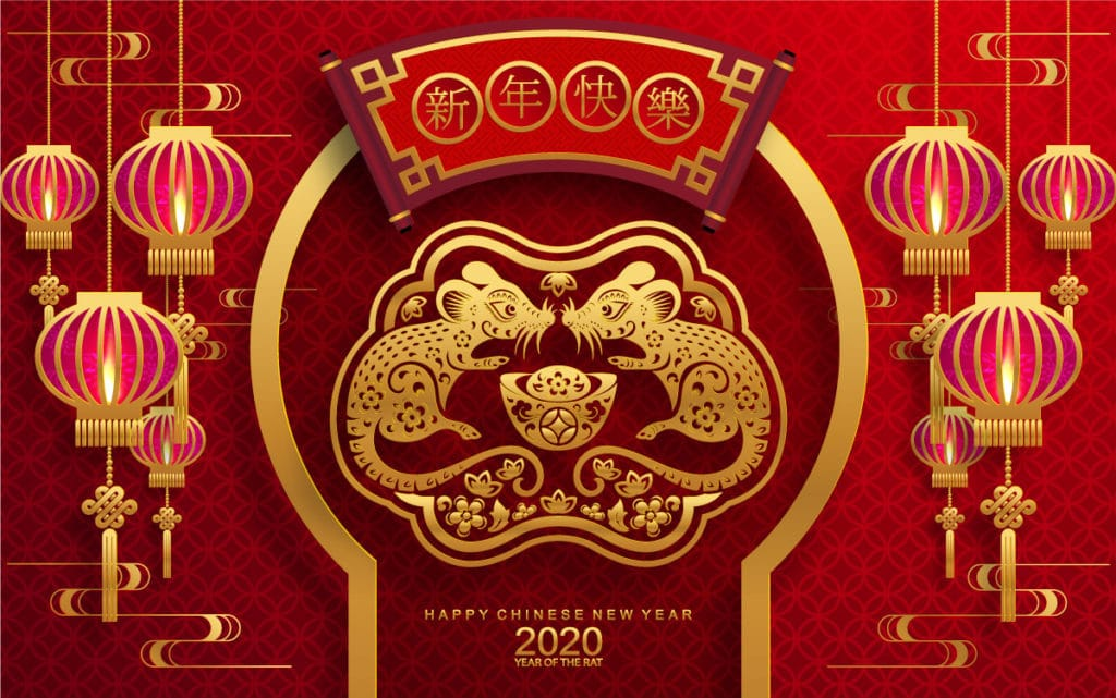 Happy Chinese New Year - The year of the Rat